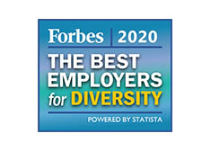 Forbes 2020 The best employers for diversity